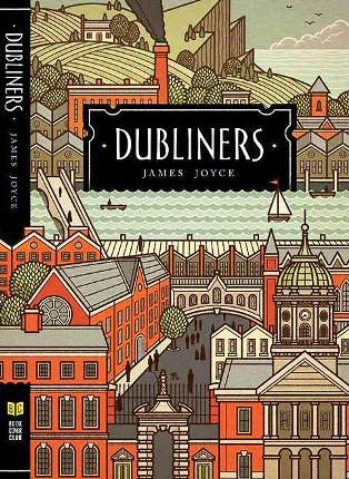 ★★★BOOK COVER REVIEW ★★★  Dubliners by James Joyce  The cover transports the reader to a time when a great city is still becoming. Dublin, an Irish town then, depicts a small community atmosphere of the countryside blending with the growing city's periphery. All in all, the cover is very well illustrated and complimented by the earthy colors.      Spread the love,    Eva Márquez
