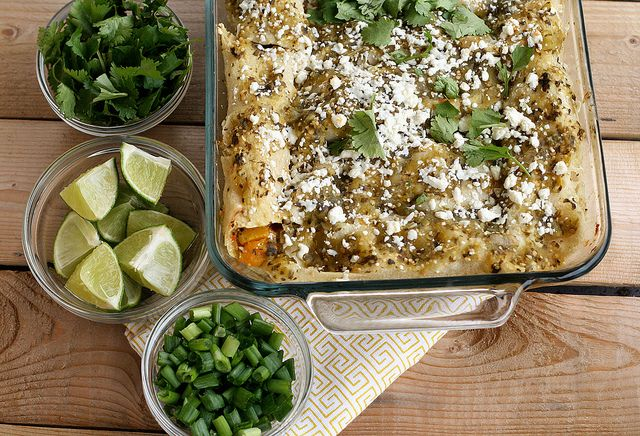 Good but lacking creaminess- Butternut Squash Enchiladas with ...