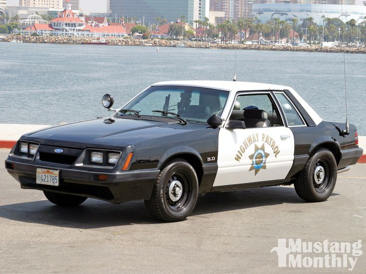 Fox Body Ford Mustang Special Service Ford Police And
