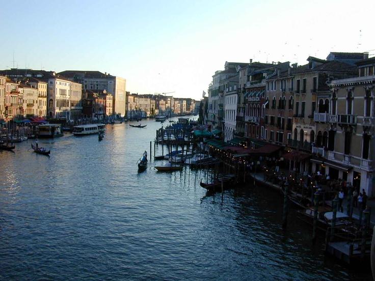 Canal at dusk, Venice 2003