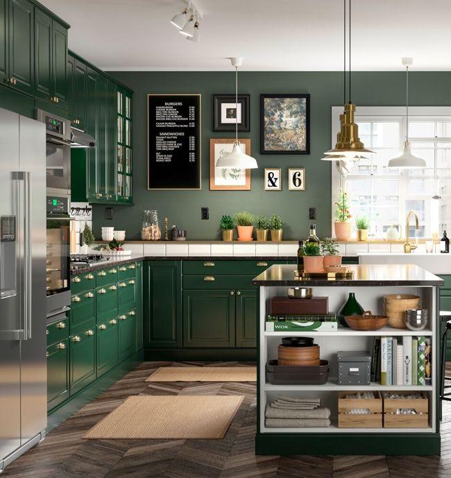 Kitchen Ideas And Inspiration Green Kitchen Cabinets Kitchen Cabinets Green Kitchen