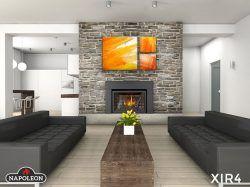 L'idéal pour remplacer votre vieux foyer de maçonnerie, ou encore votre foyer à dégagement zéro, l'encastré au gaz est beaucoup plus efficace sur le plan énergétique et pourrait vous faire économiser sur vos couts de chauffage.