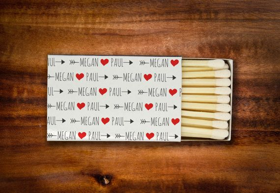 Sparkler farewell wedding matches. These perfect match matchbox favors are just the thing for your big day! The standard sized matchboxes come all ready to use at your wedding, with your custom designed high quality sticker already applied.  Each box comes with approximately 24 white headed matches.
