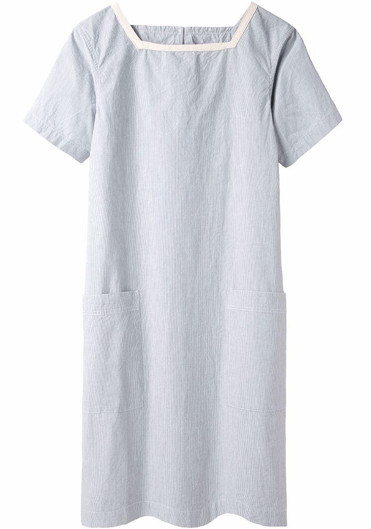 MHL by Margaret Howell / Striped Naval Dress | La Garçonne