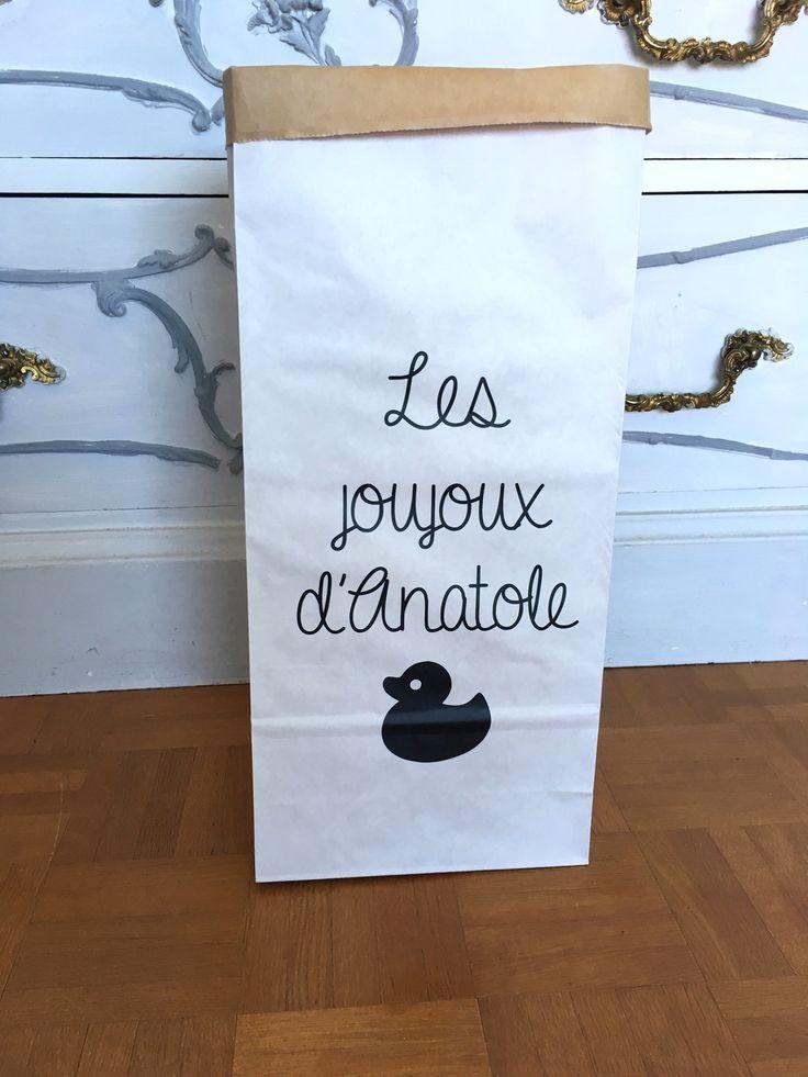 Plus de 25 id es uniques dans la cat gorie sac kraft sur - Petit sac en papier pour mariage ...