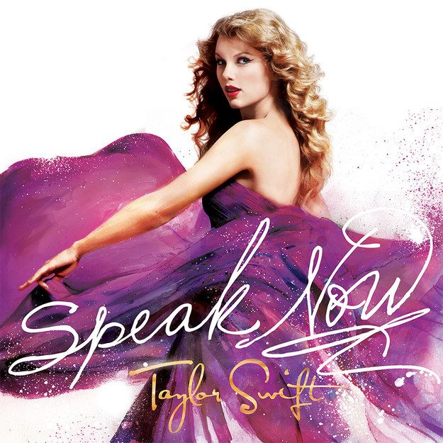 Which Taylor Swift Album Are You? I got Speak Now!!!