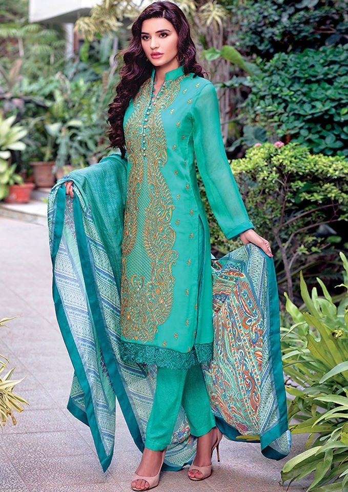 AlKaram Eid Dresses Festival Collection 2015-2016