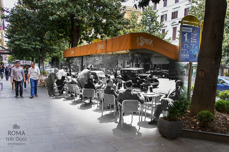 Il caffè letterario di Via Roma Ieri Oggi Caffè