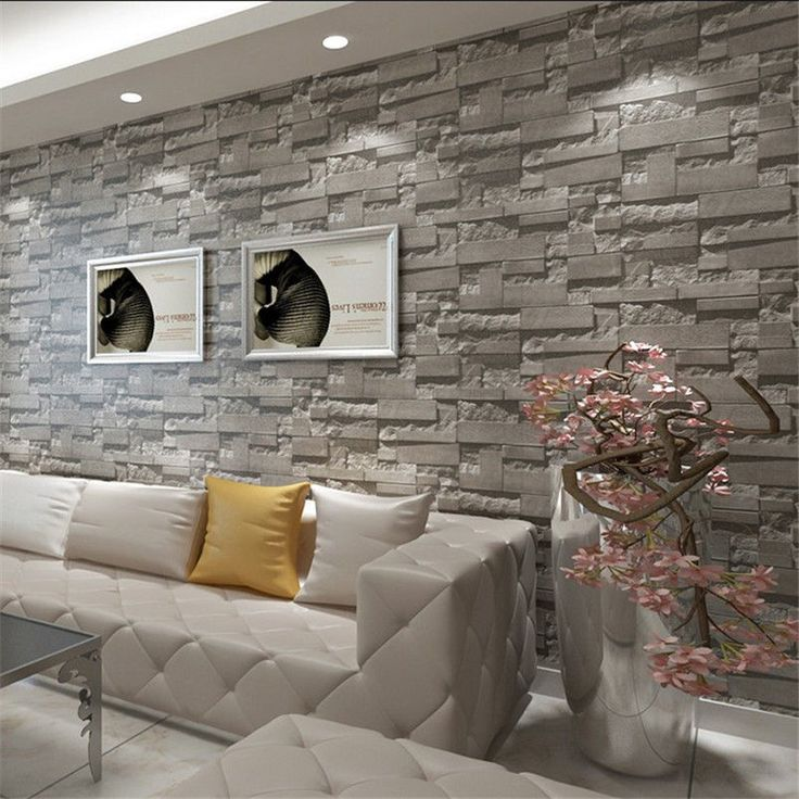 Best Stone Wallpaper Ideas On Pinterest Live Wallpaper - 3d brick wallpaper living room