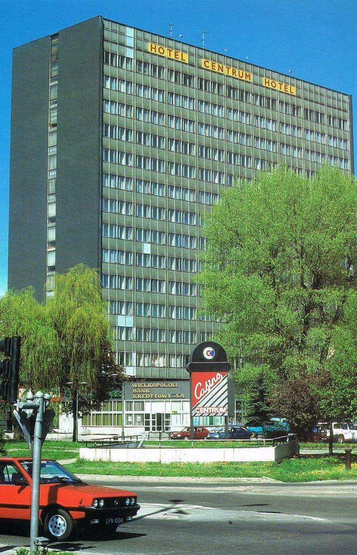 Hotel Centrum Łódź Poland  Połowa lat 90tych.