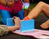 Far Out Sports: Toe Wrestling! You have heard of thumb wrestling or arm wrestling rules right? So how about a spot of toe wrestling for a change?  Toe wrestling is one of those strange sports involving two competitors who lock bare feet.