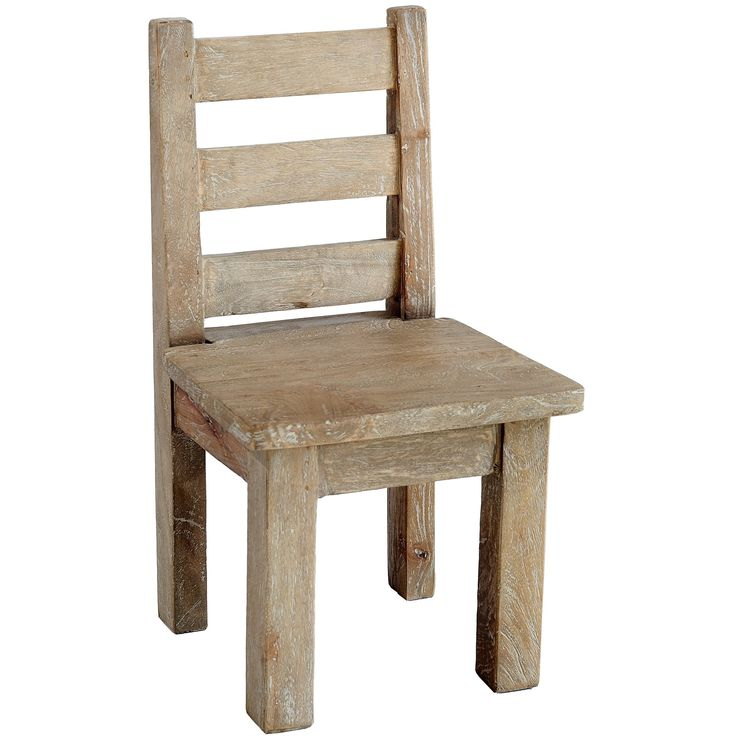 Rustic kids chair