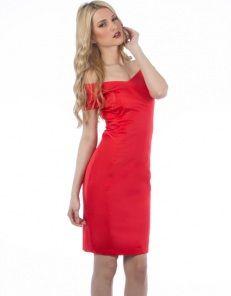 Φόρεμα με ανοιχτό ντεκολτέ