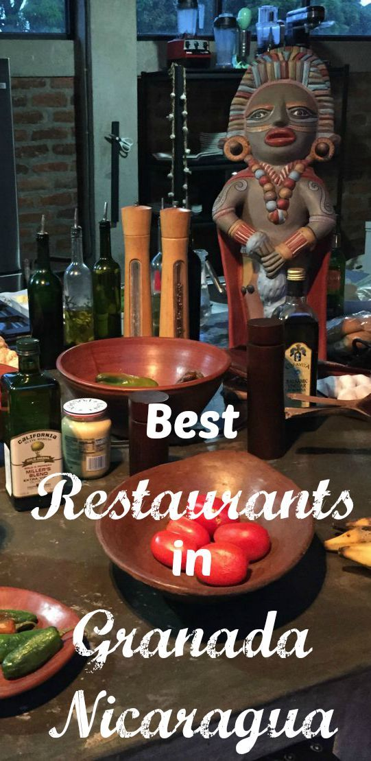 We had, hands down, the best meals of our entire time in Central America in Granada. While these restaurants aren't all cheap, they are delicious. Here are the best restaurants in Granada Nicaragua.