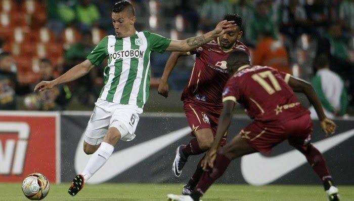 Atletico Nacional vs Deportes Tolima en vivo -