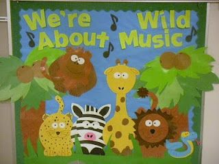 "OP wrote:  ""We're Wild about reading?""  I *love* this, because USUALLY it's the music teacher cannibalizing the classroom teacher's ideas.  :)"
