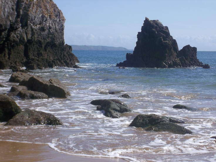 Barafundle Beach, Pembrokeshire, Wales