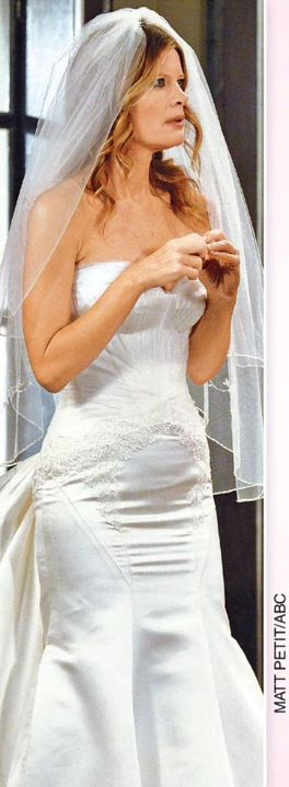 gh nina in her wedding dress to wed ricfrom the 629