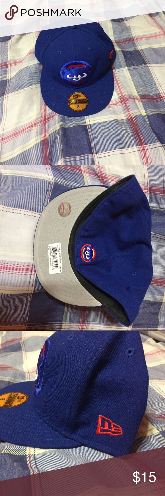 Cubs Hat Chicago Cubs Fitted MLB Hat. Accessories Hats