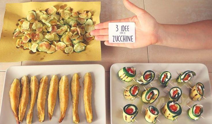 3 ideas para recetas fáciles con el calabacín - 3 sencillos calabacín Recetas