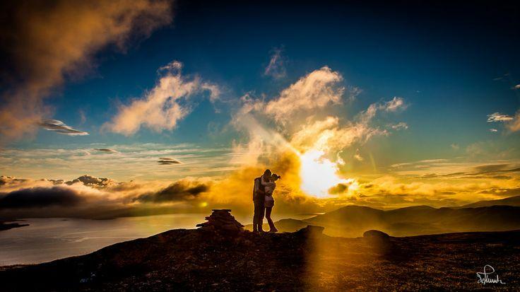 Kiss in the Midnight Sun by Kasper M. de Thurah on 500px #kiss #love #norway #midnightsun #beautiful #couple #norway