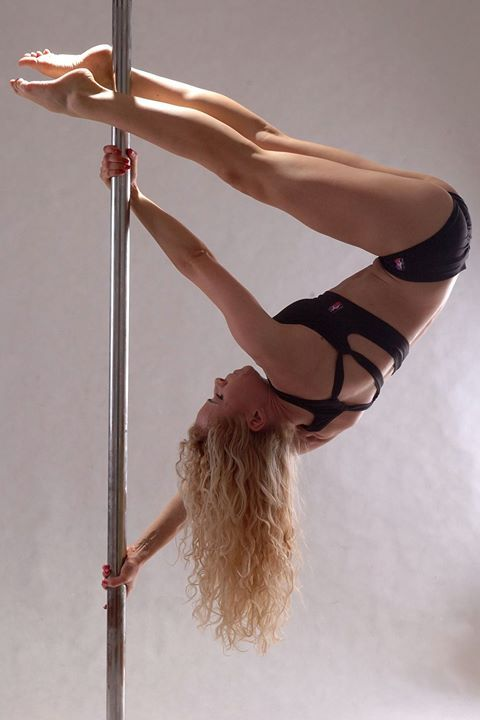 Pole Picture of the Day: Submitted by: @Adrienn Zahuczky wearing the PoleFit®…