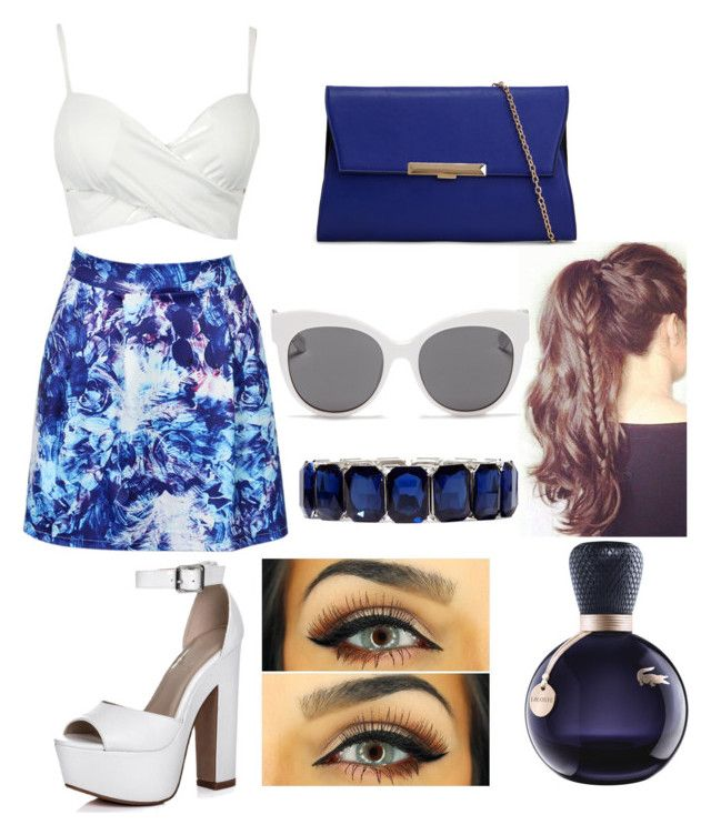 """""""Day in the sun"""" by hannahlee01 on Polyvore featuring ALDO, Monet, Blanc & Eclare and Lacoste"""