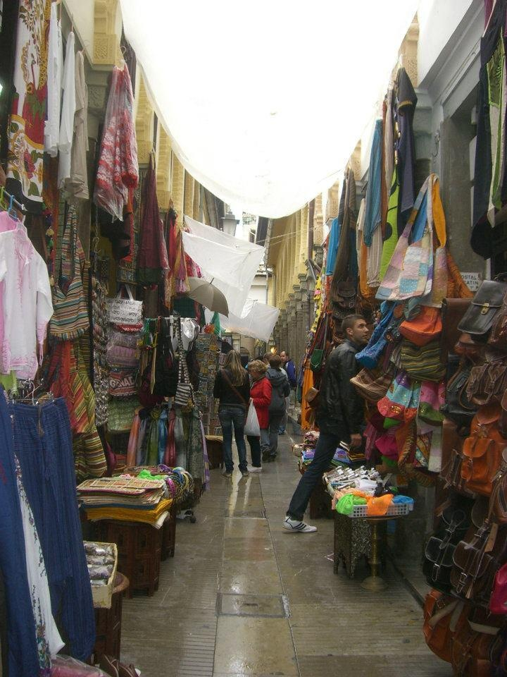 Granada, Spain. Spent a rainy late afternoon here with @Megan Wrinn bartering and smelling lots of incense.