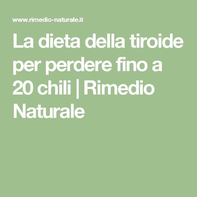 La dieta della tiroide per perdere fino a 20 chili | Rimedio Naturale