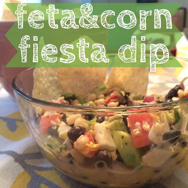 i have an obsession.  with dips. i cannot get enough.  some of my favorite recipes on here have been appetizers! well here is another one for ya :) this dip has alllll the good stuff.  avocados, tomatoes, black beans, salsa, cilantro (my FAVORITE), corn, and feta! so fresh and delicious.  you could even add chicken to make it a little more hearty.  and its incredibly easy to make!