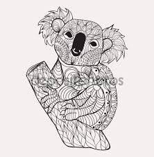 Resultado de imagem para tatuagem de coala