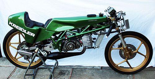 Lean And Mean 50cc Fighting Machine 1981 Factory Van Veen Kreidler