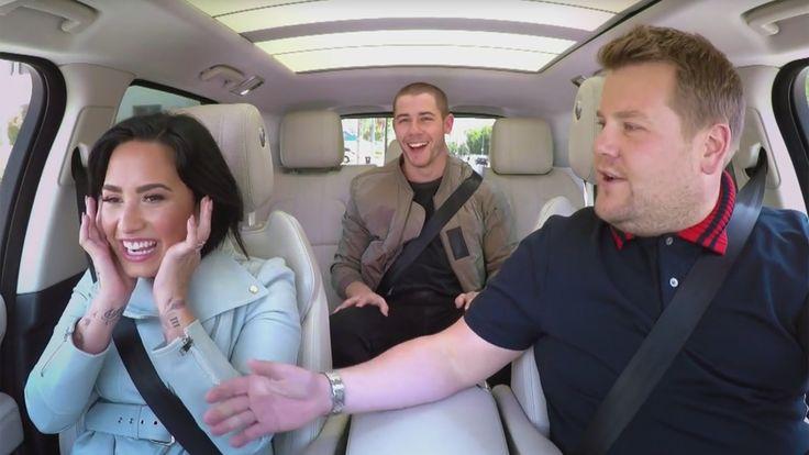 Where is Nick Jonas' purity ring? Singer, Demi Lovato dish on Carpool Karaoke
