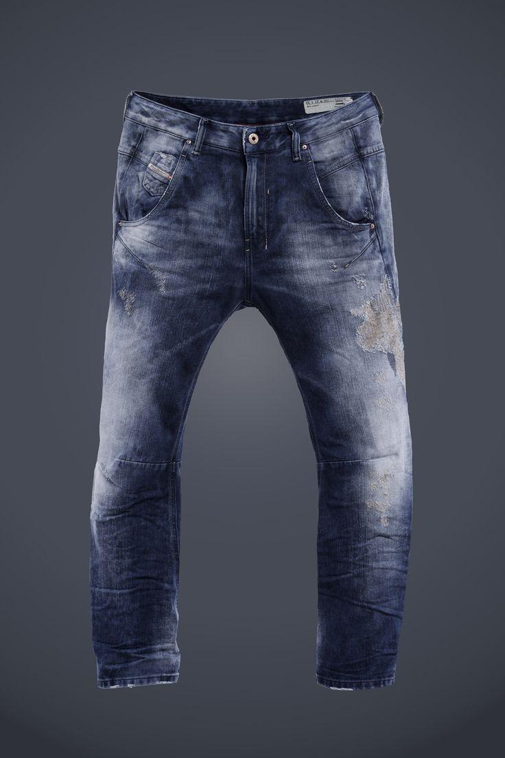 Diesel #jeans: Fayza #indigo #collection