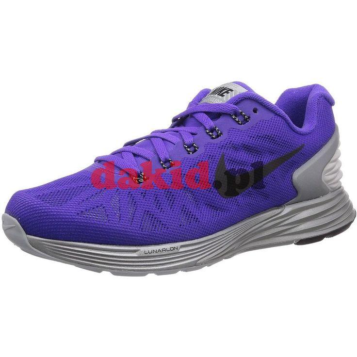 Nike LUNARGLIDE 6 FLASH · nr kat.: 683652 500 · kolor: hyper grape/black-rflct silver
