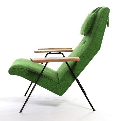 Robin Day Reclining Chair...in green!