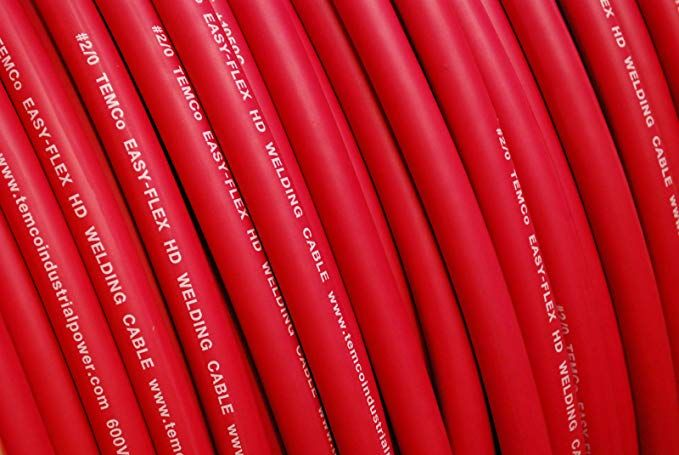 Temco Wc0031 100 Ft 2 0 Gauge Awg Welding Lead Welding Cable Welding Leads Welding