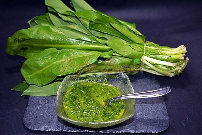 Sos de leurda sau usturoi verde | Pofta Buna!