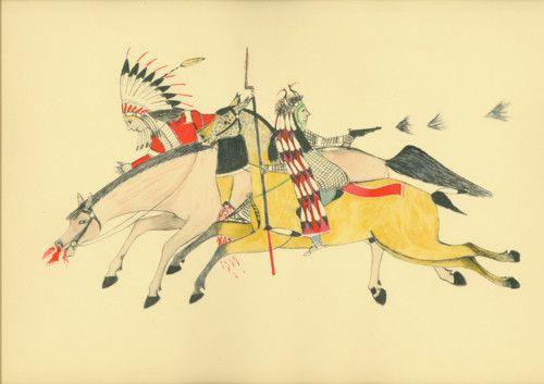 The Battle of Little Big Horn, June 25-26, 1876.