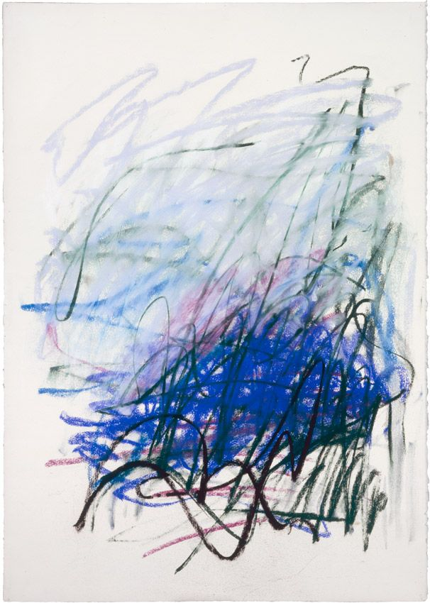 Joan Mitchell - Untitled, 1992.