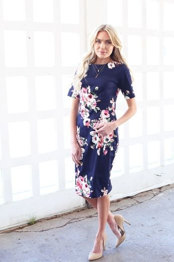 This modest dress has almost sold out at Omika - the Kennedy is online now, only one size left!