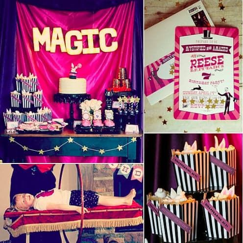 With a daughter who knew she wanted to be a magician, Gretchen Brittain knew a magic-themed birthday party ...