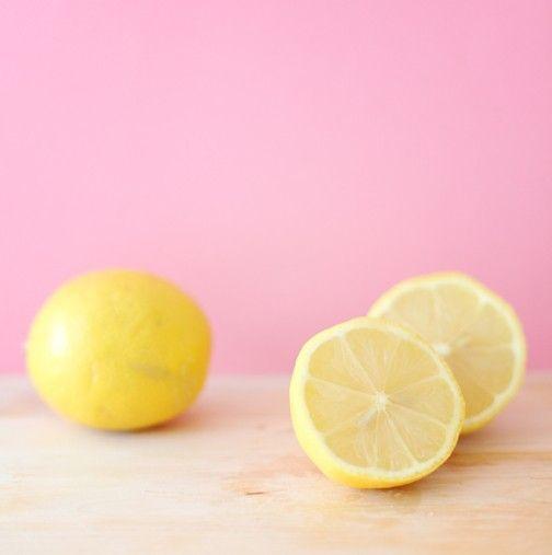 Lemon yellow pink {photo by Janis Nicolay} #lemon #yellow #pink