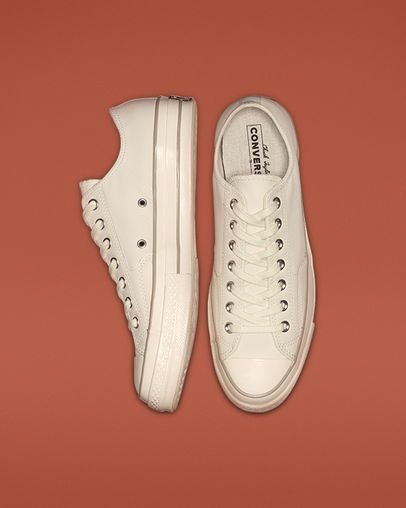b40af29bbc415 Chuck 70 Luxe Leather Egret Papyrus Egret. Find this Pin and more on Converse  All Star ...