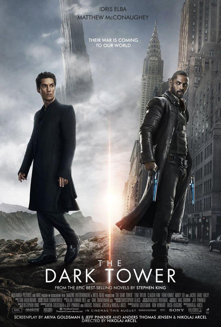 A Torre Negra, adaptação do livro de Stephen King, ganhou um pôster internacional, com seus protagonistas.