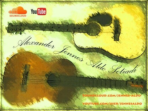 My cover photo!! One man with two or more instrument.  See me on:  Www.soundcloud.com/jennes-aldo Www.Youtube.com/user/jennesaldo  Semoga suka! Please share! thankyou :)