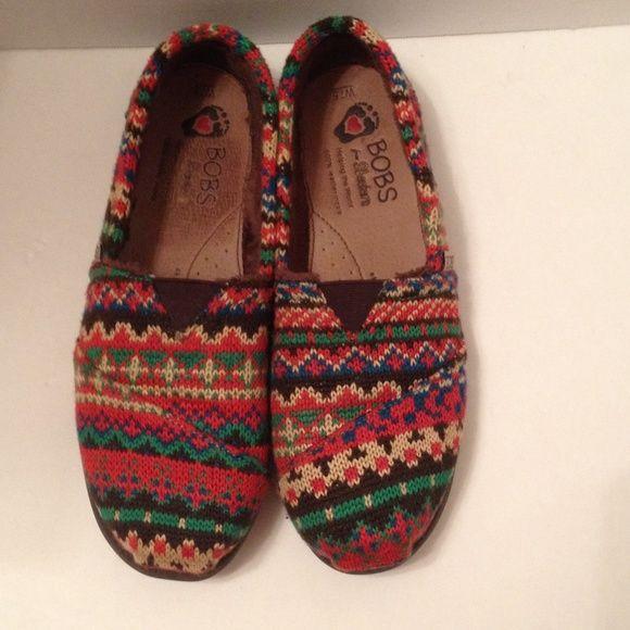 bobs multi color shoes