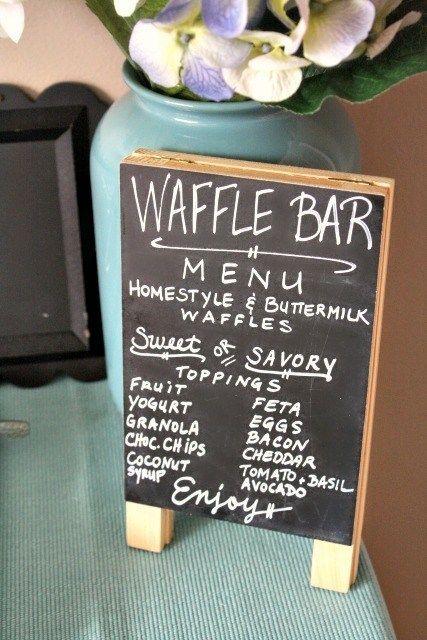 Best 10 Waffle Bar Ideas On Pinterest Birthday Brunch