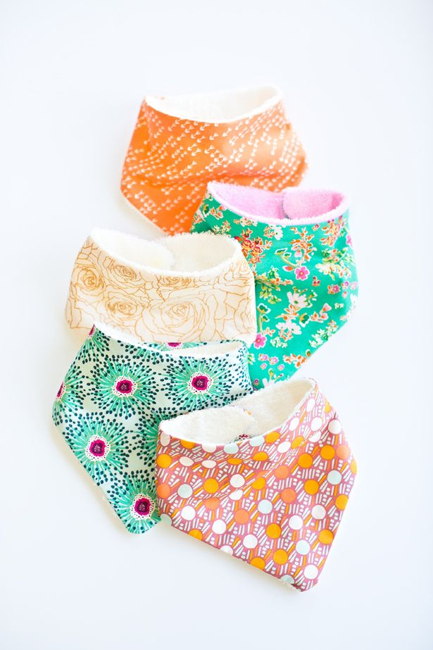 How to Make Cute Baby Bandana Bibs. We made these for a fun baby shower activity and they were a hit!