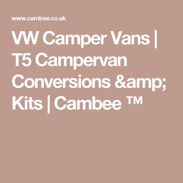 VW Camper Vans | T5 Campervan Conversions & Kits | Cambee ™